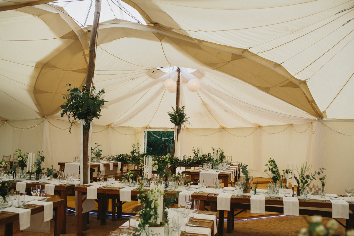 Festival Wedding Marquee