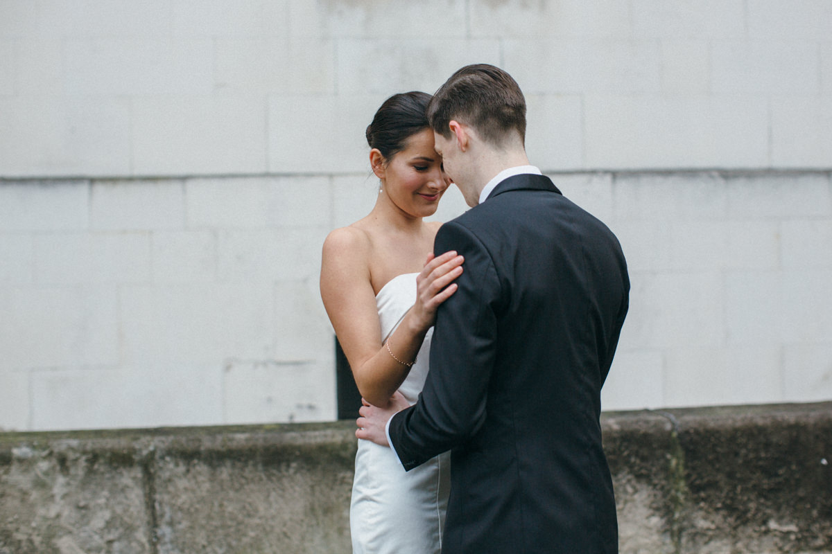 Wedding photographer London Bride & Groom portraits